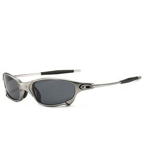 поляризованное высокого класса езда очки титана кадрOakleyсолнцезащитные очки мужчин бренд класса люкс Cолнцезащитные очки Защита от ультрафиолетовых лучей очки