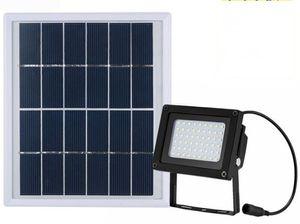 Солнечный 54 светодиодный датчик света прожектор лампы сад открытый безопасности водонепроницаемый белый / теплый свет 5.5 V 3W 400LM IP65 LLFA
