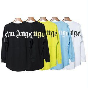 2020 primavera nuevos SS PA Ángeles palma de manga larga cuello redondo manga del palo de la costura de los hombres de manga larga camiseta de alta calidad 01
