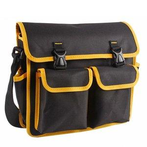 Многофункциональный ящик для инструментов сумка Оксфорд ткань электрик ремонт плеча аппаратные средства чехол для хранения 350x300x100mm