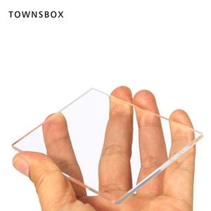5 Pcs Acrílico Números Da Tabela De Acrílico Plexiglass Sinal Blanks Decoração Do Casamento Corte A Laser Perspex Peças Do Lugar Cartões de Tampa Da Placa de Folha