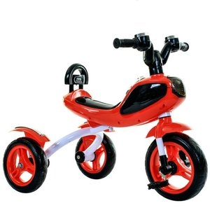 Children's Tricycle Pedal Tricycle with Music Lights Kids Bike Power Wheels for Kids Ride on Cars for Children