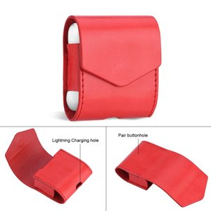 for Apple AirPods Earphone Bag Full Cover Protector Cases PU Leather Magnet Protective Pouch Case Cover Headphone Accessories