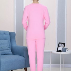 Maternity Clothes Winter Plus Velvet Long Underwear Loose-Fit Plus-size Set Plus-size Nursing Thermal Underwear Confinement