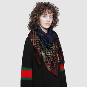 Designer Jacquard Châle Arc-En-Cachette De Soie Écharpe Pour Femmes Et Hommes 2019 Hiver Marque Écossais Écharpes Écharpes De Luxe Pashmina Infinity Écharpe