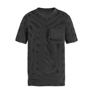 20SS Logo flocado Jacquard monograma Tee hombres mujeres Color sólido transpirable manga corta High Street camiseta verano camiseta HFYMTX781