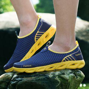neakers executando MAISMODA Verão dos homens / mulheres respirável Light Weight malha Sneakers saudável que anda ao ar livre sapatos antiderrapantes esporte funcionar Sho ...