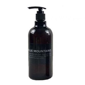 Shower Gel Shampoo Press Bottle Liquid soap Refillable Bottle Simple Nordic Style