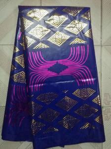 2017 последних базно Riche вышитых тканей африканских базен выскочка Getzner ткань для африканских мужчин одежды 5yard / серия HLB-009