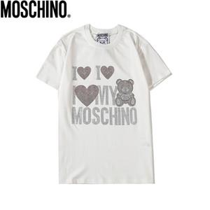 Männer Frauen Luxus Shirts Sommermens beiläufige Designered T-Shirt Kurzarm Top Tees Hip Hop Herrenmode 2020 # 08