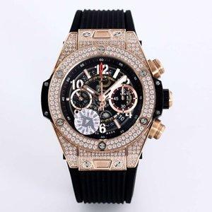 TA produit 1242 Unico calendrier mouvement montre des montres mécaniques des montres de marque de luxe pour hommes de diamant de mode watchs