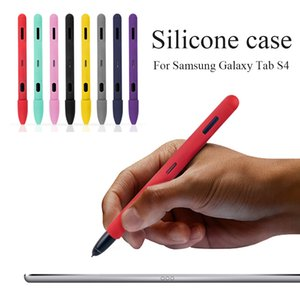 1pc Sleeve Pencil Grip Holder Silicone Case For Samsung Galaxy Tab S4 Cradle Stand Holder For Tablet Smart Pen Protective Cover