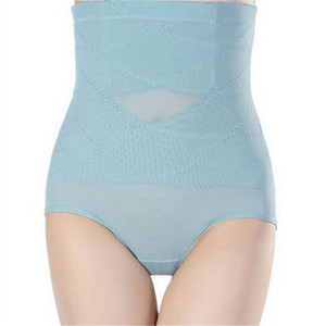 Nuevo 1 PC Postparto Corsé Entrenador de cintura Panty Control Bragas Fajas Body Shapers Mujeres Ropa interior que adelgaza la cintura alta Calzoncillos