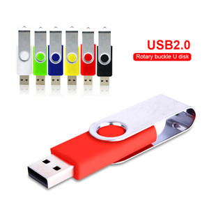 USB flash drive Rotation 128gb pen drive 2.0 memory stick 32GB 16GB 8GB 4GB usb flash card 64gb USB Stick flash drives