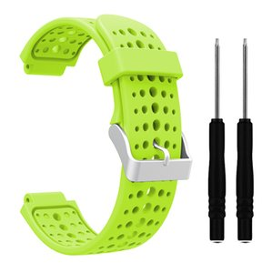 Colorful Soft Silicone Strap Watchband Replace For Garmin Forerunner 220 230