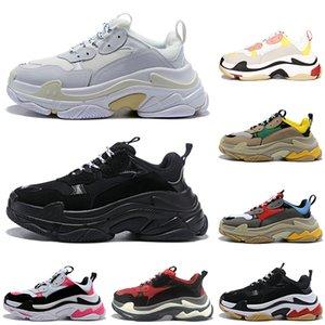stock x triple s designer freizeitschuhe männer frauen plattform Chaussures Old Dad Sneaker herren trainer luxus mode schuhe 36-45 vintage