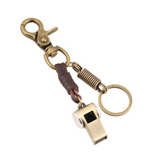 المفاتيح الصافرة عالية ديسيبل الفولاذ المقاوم للصدأ في الهواء الطلق بقاء الطوارئ الصافرة سلسلة المفاتيح P124