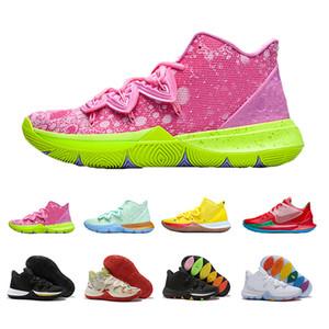2019 Hot Sale 망 Kyrie Shoes PE 농구 Shoes 5 주년 기념 Red Green Sponge Running 어빙 5 초 Five Luxury Sneakers 40-46