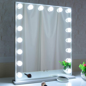Hollywood light vanity mirror dressing room stand table or bathroom hang wall wount led makeup mirror