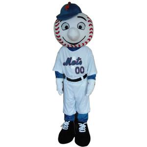Sıcak satış mr bir araya geldi maskot kostüm yeni karikatür erkek kostümleri beyzbol maskot kostümleri