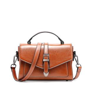 Individual2019 Женская сумка Всеподдельная наклонная сумка Tide с одиночным плечом Краткая сумка Bale