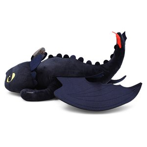 4 Sizes Anime How To Train Your Dragon 2 Plush Toys Toothless Night Fury Plush Doll Toy Soft Stuffed Animal Pattern Toy Figurine