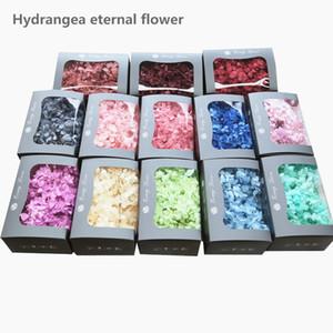 20g высокого качество натуральной свежий гортензия сухого цветок голова DIY реального вечный цветок материал длительное сохранение не выцветает T200103