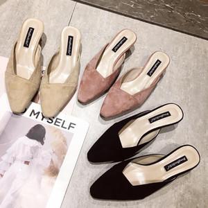 Vendita calda-2019 Tuo Ban Joker scarpe col tacco alto temperamento a forma di speciale con giù tagliatelle scarpa fresca donna estate