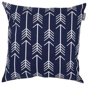New Style Cushions Exquisite Pillow Case Square Soft Navy Waist Cushion Cover Sofa Chair Home Decor (45cm*45cm) kissen