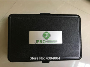 2018 High quality JPRO DLA+2.0 Vehicle Interface Diesel Newest 2017 software Heavy Duty Truck Scanner Fleet Diagnostic Tool