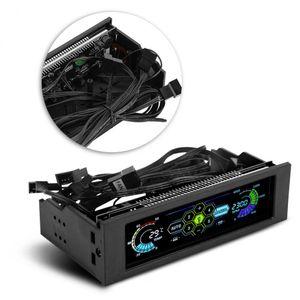 Drive Soğutma Masaüstü CPU için STW PC Bilgisayar CPU Soğutma LCD Ekran Ön Panel Sıcaklık Kontrol Fan Hız Kontrolü