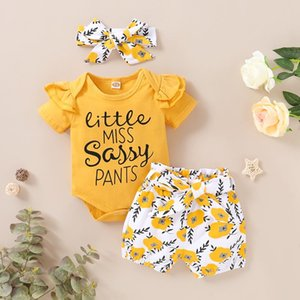 Print Newborn Infant Baby Girl Romper Jumpsuit With Underwear Short Sleeve Sunsuit Summer Clothes Outfit 0-18m