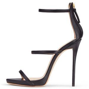 Factory Classic Party Heels Basic Evening Dress Shoes Summer Ladies Platform Heeled Sandals Women High Heel Strappy Sandal