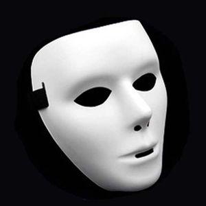 Halloween Máscara Máscaras Partido Cosplay Moda Adulto rosto cheio Branco Careta Máscara Rua Ghost Dance máscara máscaras Dancer Máscaras Hip-hop VT1702