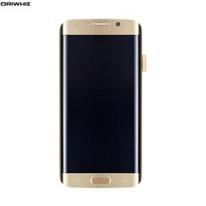 """ORIWHIZ 5.7"""" Substituição para Samsung Galaxy S6 Borda Além disso G928 LCD G928F digitador Touch Screen + montagem de quadros"""