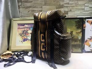 Vente chaude femmes hommes sac à dos en cuir véritable designer épaule épaule sacs Messenger automne avec lettre imprimer taille du sac à dos 32 * 45 * 14 # c251