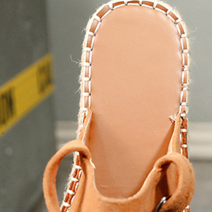 SAGACE donne scarpe comode molli 2020 Nuovo gladiatore Femminile solidi / Leopard Print piano casuale sandali della spiaggia di estate Scarpe