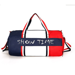 2019 Sacos de Viagem das Mulheres de Lona Yoga Gym Bag para Sapatos de Fitness Bolsas Ombro Crossbody Bolsa Mulheres Homens Sac De Pacote Esporte