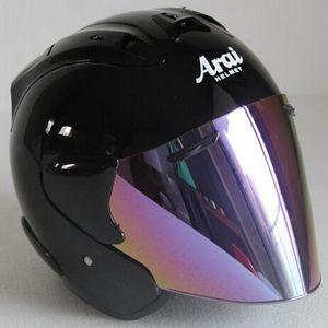 2019 Top caliente ARAI R3 casco de motocicleta casco medio abierto cara casque motocross TAMAÑO: S M L XL XXL ,, Capacete