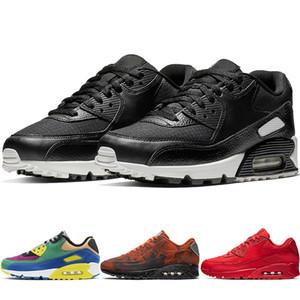 Clássico de alta Qualidade 90 Mars Landing Running Shoes Preto Branco Viotech Mulheres Tênis Mens 90 s Trainer Essencial Ser Verdadeiro Almofada Sapato Esportes