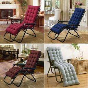 El algodón suave del asiento de reemplazo del cojín del cojín del amortiguador Sun sillón reclinable Tumbona de jardín