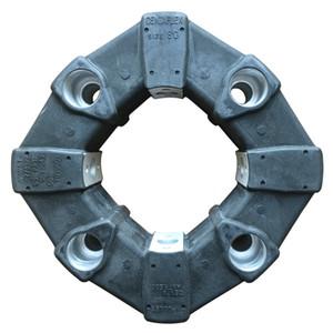 Centa Flex Tamanho 80 Acoplamento de Borracha / Mikipulley Centa Antriebe / JPN Pat 778322 US Pat3683643 D.B.P 2019608 Usado em Compressor de Ar