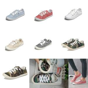 Kadınlar Kız Hafıza Köpük Tuval Ayakkabı Casual Flats Loafers Lazy Sneakers Tek Nefes Ayakkabı Chaussures Doğa Sporları Ayakkabı M1566 Ayakkabı
