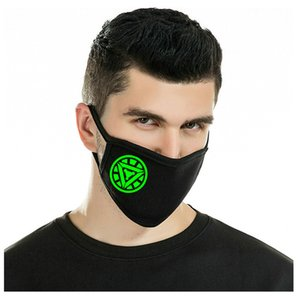 Glow Masks Purchased Light Up Outdoor Costume Led Luminous Flashing Light Face Mask Wind Proof Cycling Maskhorrible Fangs hj2009 NSVkr