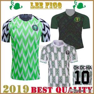 2019 Afrika Cup Nigeria Heim wegfußballJerseys 1994 Retro Nigeria Okocha MUSA MIKEL MOSES # Fußball Jersey Hemd