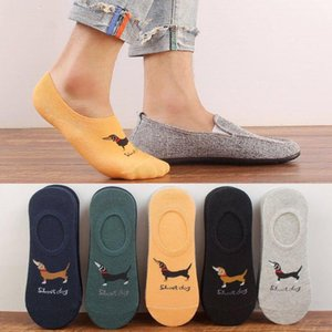 Color Sock Slippers Summer Striped Print Ankle Length Underwear Sports Comfortable Athletic Socks Mens Designer Contrast
