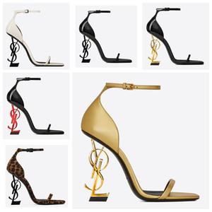 Elegante tacco alto scarpe da sposa nuovo modo con tacco Pantofole donne del partito di sera di promenade dei pattini di vestito 10 centimetri tallone per le signore Sandali