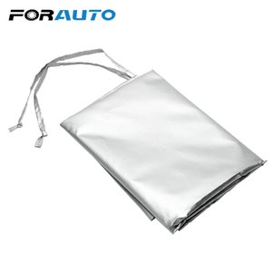 Cubiertas FORAUTO tamaño medio magnético cortina de Sun del invierno Car Styling polvo cubierta de cristales cubierta que aisla la nieve helada hielo Escudo de coches