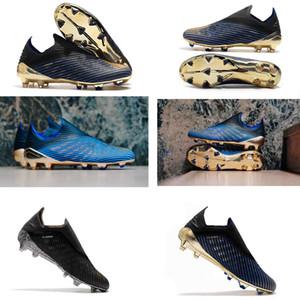 2019 yeni Predator 19 + 19.1 FG İç Oyun PP Paul 25th Yıldönümü erkek Futbol Futbol Ayakkabıları 19 + x Cleats Çizmeler Boyutu 39-45