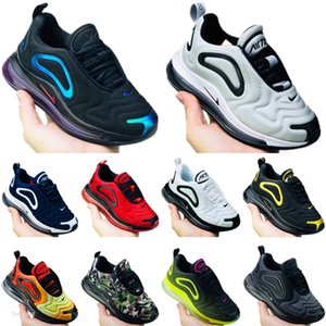 Nike Air Max 720 2019 Kids Sports Chaussures de course lumière LED enfants de filles de garçon Baskets Chaussures de sport classique en plein air tout-petits Chaussures